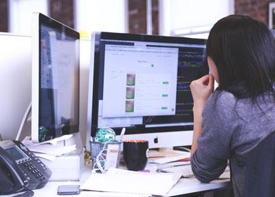 la ricerca del lavoro sul web